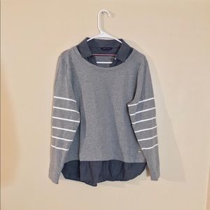 Women's Tommy Hilfiger Faux Combo Shirt & Sweater